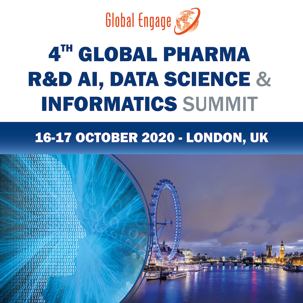 Global Pharma R&D AI, Data Science and Informatics Summit banner