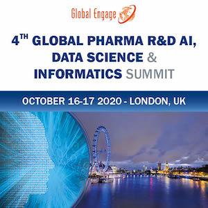 Global Pharma R&D AI, Data Science and Informatics Summit banner